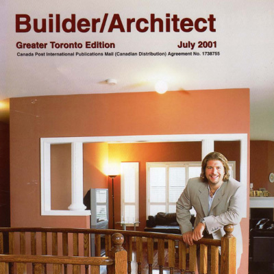 Builder Architect July 2001