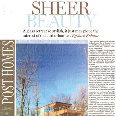 The National Post February 2009